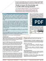 Descriptive Study to Assess the Knowledge and Attitude on HIV AIDS among Students