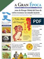 La Gran Epoca, edición de Febrero, Rep.Dominicana