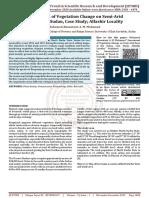 Assessment of Vegetation Change on Semi Arid Zone of the Sudan, Case Study Alfashir Locality