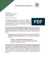 Carta APPU a la Decana Cubano 16FEB 2011