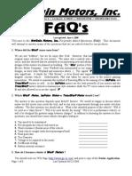warP motors FAQs