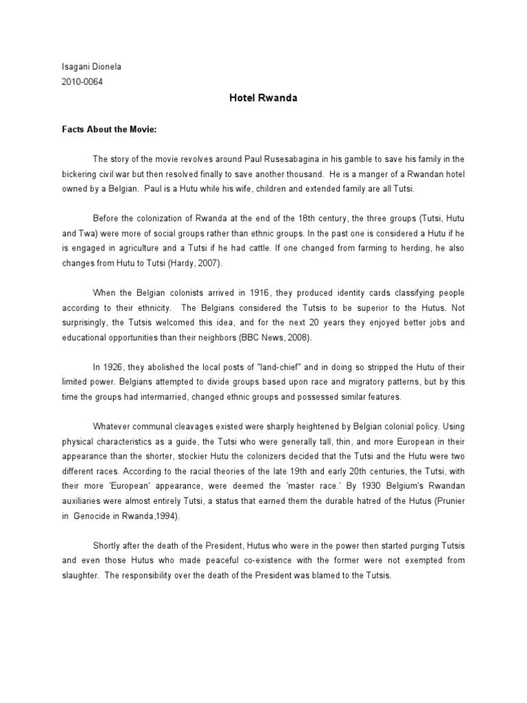 hotel rwanda essay conclusion essayhelp web fc com essays hotel rwanda movie review