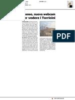 Ateneo, nuova webcam per vedere i torricini - Il Resto del Carlino del 27 dicembre 2020