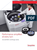 Sorvall BIOS 16 Bioprocessing Centrifuge Brochure