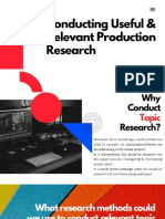 production research  topic research