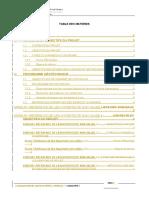 Programme géotechnique proposé