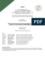 Informations géologiques, hydrologiques et autres du Tchad