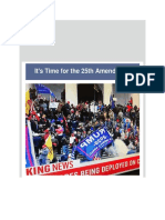 Dr Juan Andrade, Jr. - It's Time for the 25th Amendment