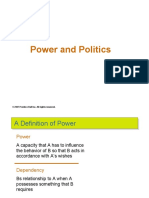 Lecture on Power and politics.ppt