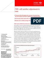 VND still another adjustment to come