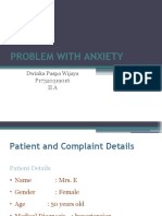 DWINKA 2A PPT PROBLEM WITH ANXIETY