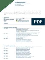 Currículo do Sistema de Currículos Lattes (José Luiz de Araújo Júnior)