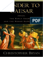Render to Caesar - the Early Church & the Roman Superpower
