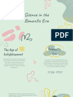 romanticism and science