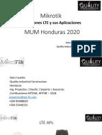 Mikrotik lte y sus aplicaciones