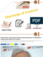 L10 Discharge of Contract