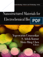 NANOSTRUCTURED MATERIALS FOR ELECTROCHEMICAL BIOSENSORS