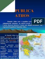 MUNTELE ATHOS (istoric si descriere m-ri)