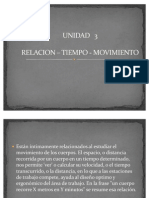3.1 Relacion-Tiempo-Movimiento