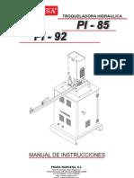 Manual Troqueladora Hidraulica