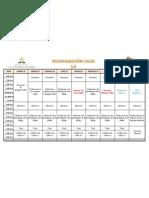 Programa Semana Misión Caleb 3.0