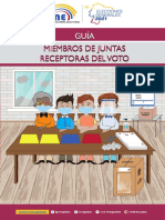 Guía para Miembros de las Juntas Receptoras del Voto 2021 final