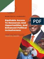 Tumukunde Manifesto