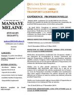 MAHAN MANSAYE MELAINE