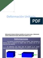 Deformacion Unitaria. (1)