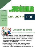 disfuncion familia