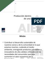 Area de produccion de una empresa nuevo