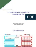 5.- Selección de Unidad Condensadora y Evaporador