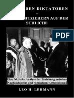 Leo Herbert Lehmann - Hinter Den Diktatoren – Den Drahtziehern Auf Der Schliche