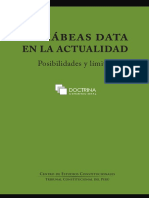El Hábeas Data en la actualidad - CEC - 2020.pdf