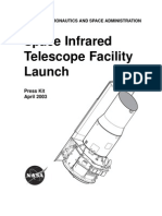 Space Infrared Telescope Facility Launch Press Kit April 2003