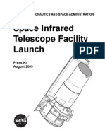 Space Infrared Telescope Facility Launch Press Kit August 2003