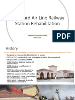 Seaboard Air Line Railway Station Rehabilitation Proposals