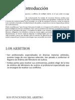 Introducción LAUDO ARBITRAL