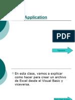 Excel Aplication