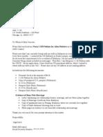 Sample Cover Letter for I-130 Petition (CR-1 Visa)
