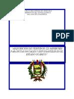 Adquisición de 22 Minibuses Sociales y Estudiantiles, Guáric