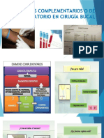 1.4.1 EXÁMENES COMPLEMENTARIOS O DE LABORATORIO EN CIRUGÍA BUCAL (1)