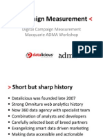 ADMA Macquarie Campaign Measurement