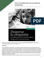 bioeticaweb.com-Despertar la compasión El cuidado ético de los enfermos graves Emilio García-Sánchez