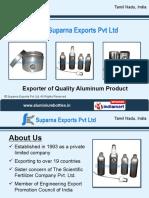 Aluminium Bottles With Screw Aluminum Canisters Tamil Nadu India
