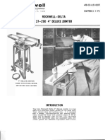 Rockwell Jointer