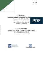 ADERASA_Tarifas
