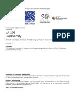 LA 108 Biodiversity-web