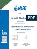 Sistemas Mapei para la impermeabilización correcta de tanques y cisternas