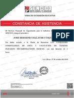 LAS CONEXIONES DOMICILIARIAS DE AGUA Y COLOCACION DE TANQUES ELEVADOS